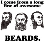 I come from a long line of awesome beards