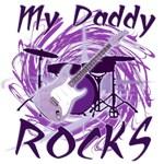 Dad Rocks Purple