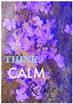 think calm, relax