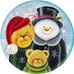 Festive season, teddies and snowman
