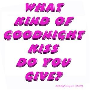 Goodnight Kiss - purple