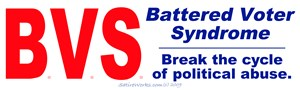 Battered Voter Syndrome
