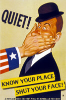 Quiet! Know Your Place, Shut Your Face!