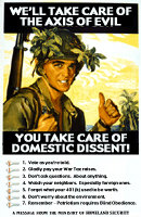 You Take Care of Domestic Dissent