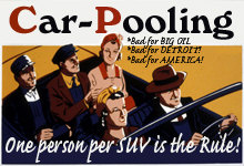 Carpooling - Bad for America