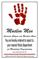 Muslim-Americans, Report For Your