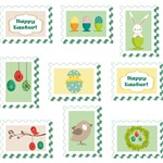 Easter Stamp Icon
