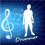Treble Clef Drummer