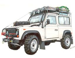 Defender 90 NAS Station Wagon Expedition