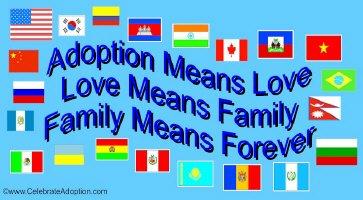 Adoption Means Love