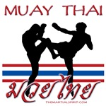 Muay Thai w/Flag