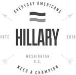 BW Gallant Hillary Clinton