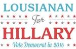 Lousianan for Hillary