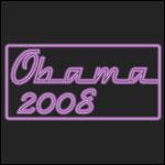 Neon Purple Obama 2008