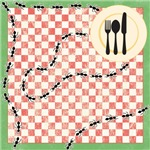 Red Plaid Picnic Decor