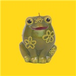 Retro Vintage Frog Toy Art Prints and Gifts