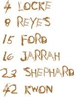4 8 15 16 23 42 Names