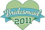 Heart Banner 2011 Bridesmaid