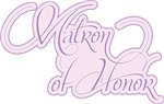 Lavender Amor Matron of Honor