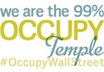 Occupy Temple T-Shirts