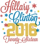 Patriotic Pinwheel Hillary Clinton Swag