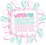 Inked Girly Women For Obama