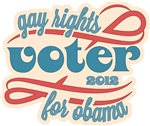Gay Rights Voter for Obama 2012 Shirts