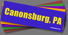 Town Colors Bumper Stickers