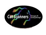 Cat scanners image is everything black