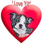 Valentines Boston Terrier