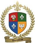 VIENNEAU Family Crest