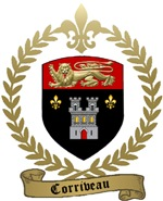 CORRIVEAU Family Crest