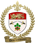 DESRUISSEAUX Family Crest