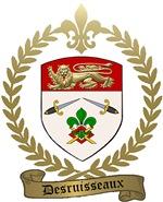 DESRUISSEAUX Family Crest