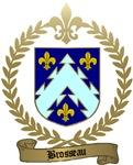 BROSSEAU Family Crest