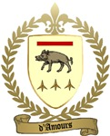 D'AMOURS Family Crest