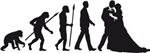 evolution wedding