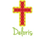Deloris Bubble Cross