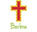 Barbra Bubble Cross