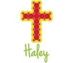 Haley Bubble Cross