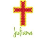 Juliana Bubble Cross