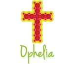 Ophelia Bubble Cross