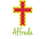 Alfreda Bubble Cross