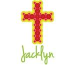 Jacklyn Bubble Cross