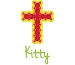 Kitty Bubble Cross