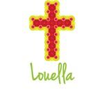 Louella Bubble Cross