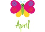 April The Butterfly