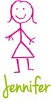 Jennifer The Stick Girl