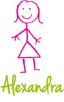 Alexandra The Stick Girl