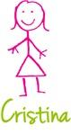 Cristina The Stick Girl